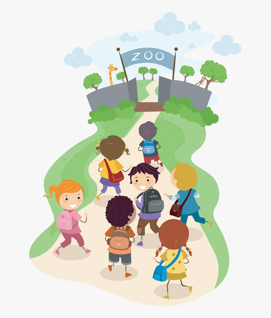 Walking To School Clipart , Transparent Cartoon, Free.