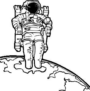 Space Walk Clip Art at Clker.com.