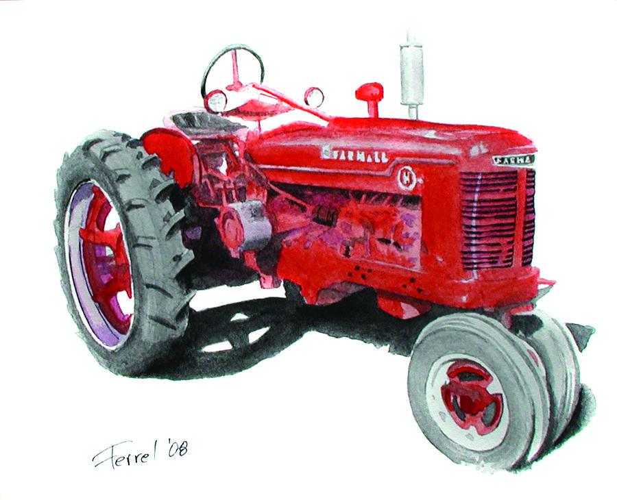 Farm Tractor Wheel Clip Art : Walking tractor clipart clipground