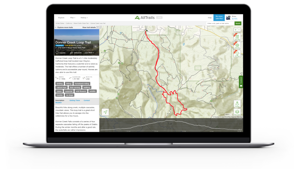 AllTrails: Trail Guides & Maps for Hiking, Camping, and.