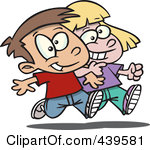 Boy Friends Clip Art.