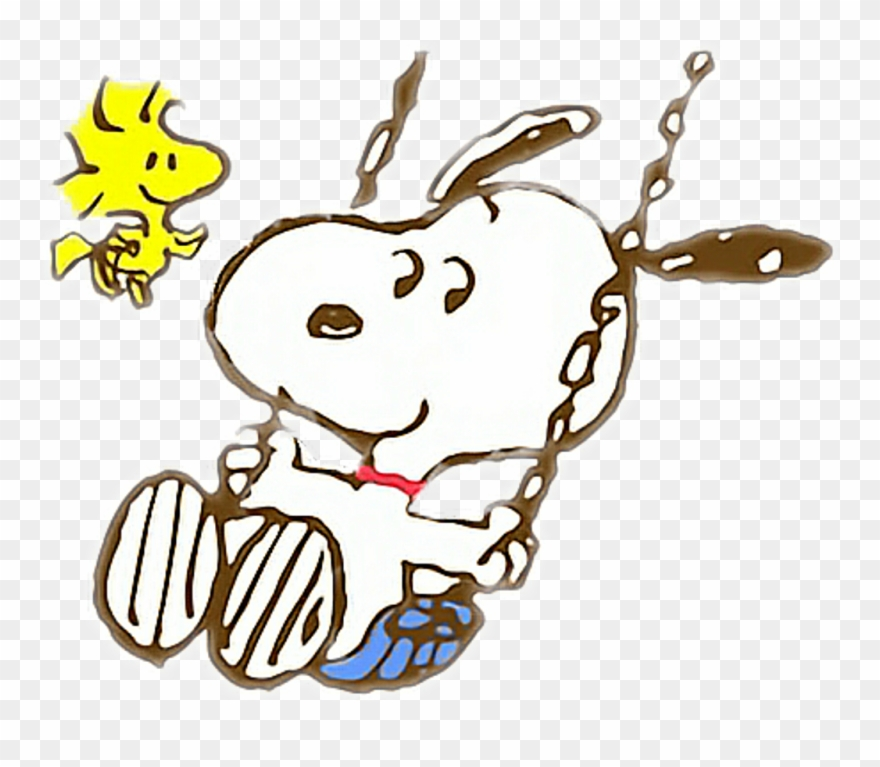 Snoopy Sticker.