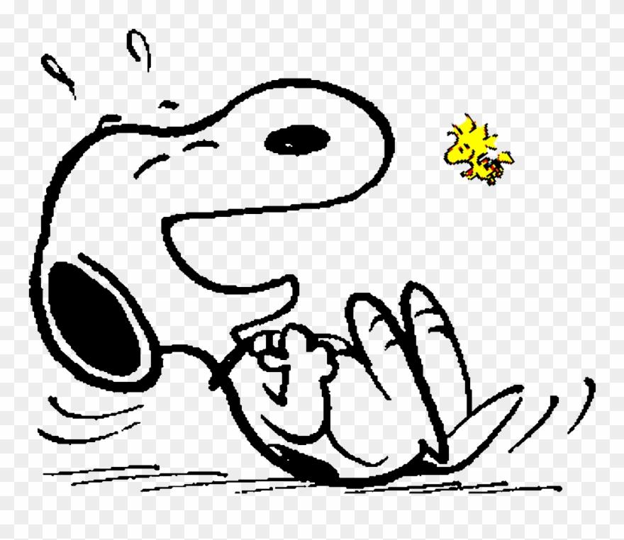 Snoopy E Woodstock Feliz Clipart (#1891573).