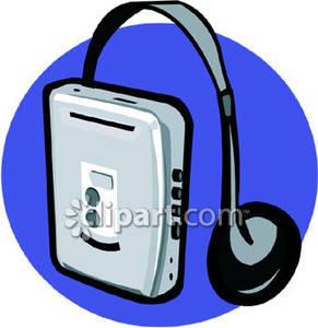 Walkman with Headphones.