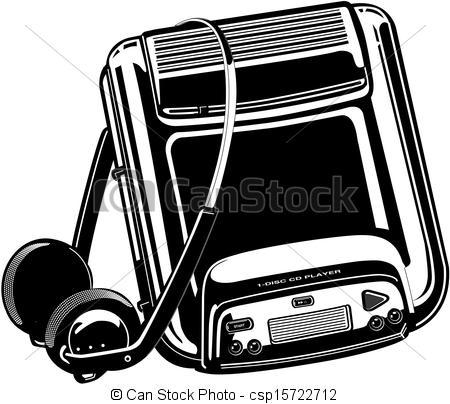 Walkman Clipart and Stock Illustrations. 366 Walkman vector EPS.