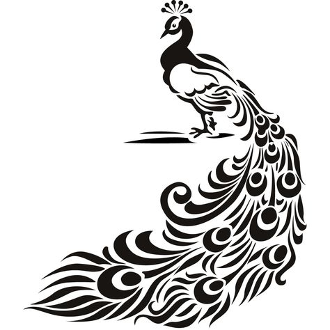 Details about Peacock Bird Animal Wall Art Stickers Wall.