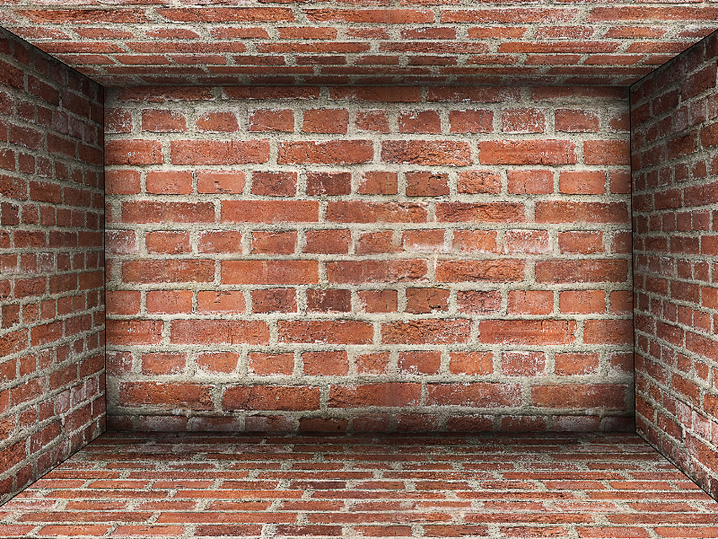 Cracked Broken Wall PNG Background for Photoshop (Brick.