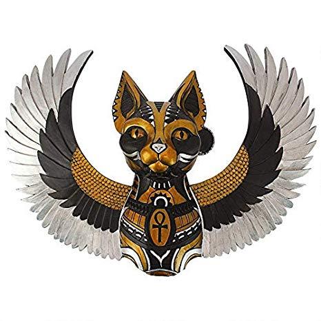 Amazon.com: Design Toscano Goddess Bastet, Winged Protector.