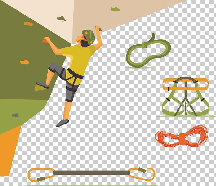Sport Rock Climbing PNG, Clipart, Cartoon, Climbing Vector.