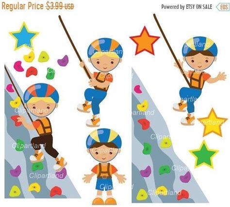 Pin van Xanten van op Clipart Little Kids Sport Rock Climbing.