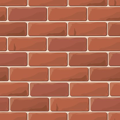 Background brick wall seamless Clipart Image.
