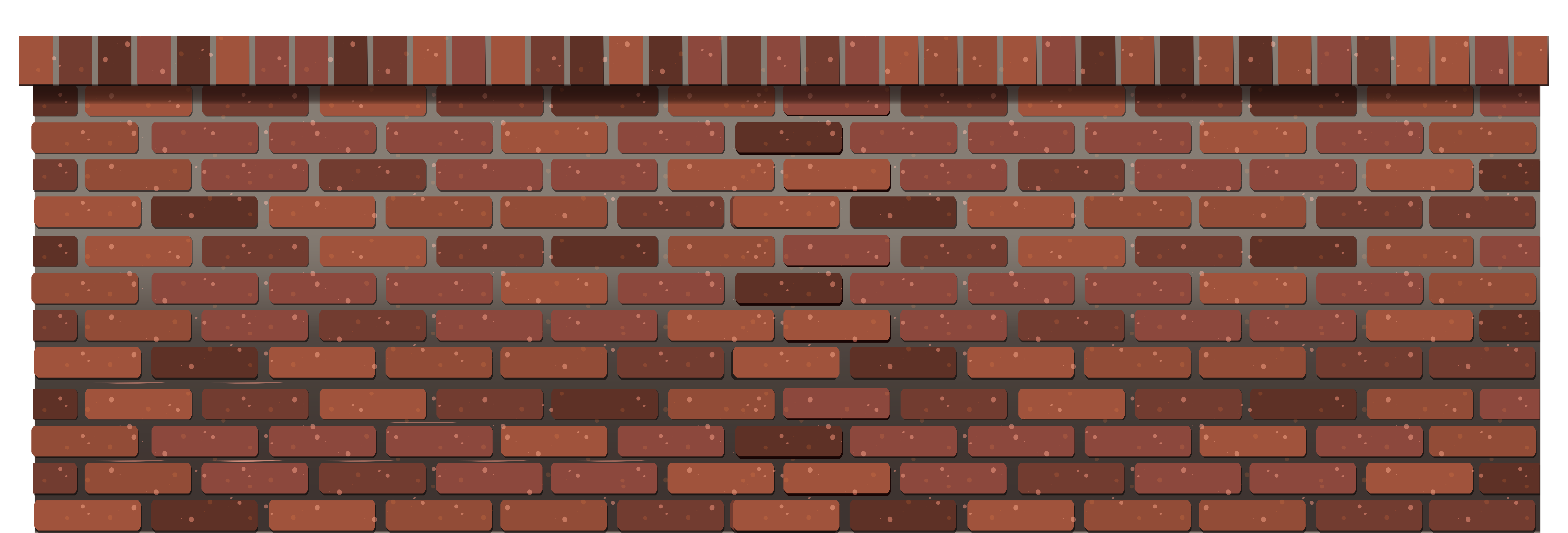 Stone wall Brick Fence.