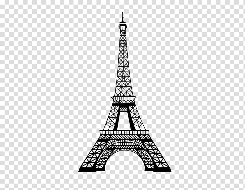 Eiffel Tower PicsArt Studio Wall decal , cityscape.