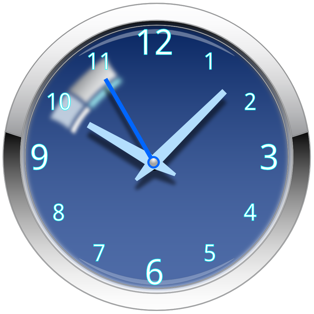 Free to Use & Public Domain Wall Clock Clip Art.