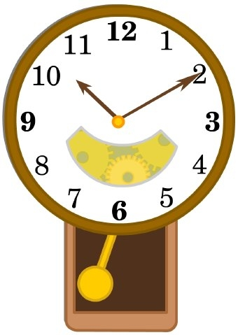 Clipart Wall Clock.
