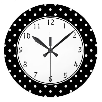 Wall clock clipart black and white 8 » Clipart Station.