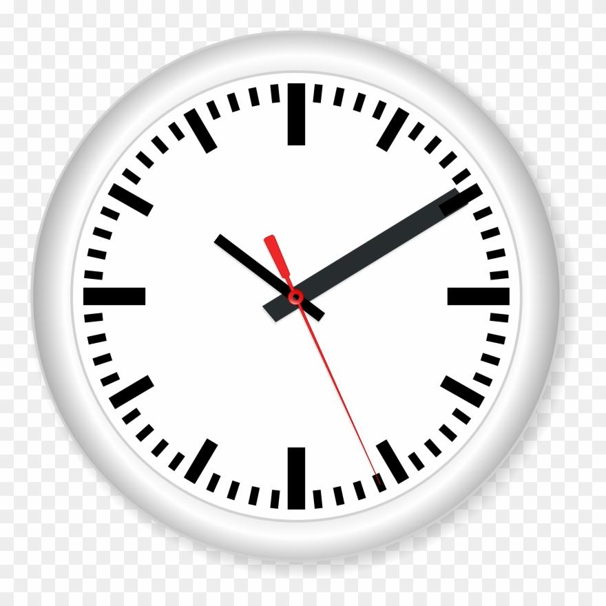 Clock Vector Png Free Download Clipart (#17327).