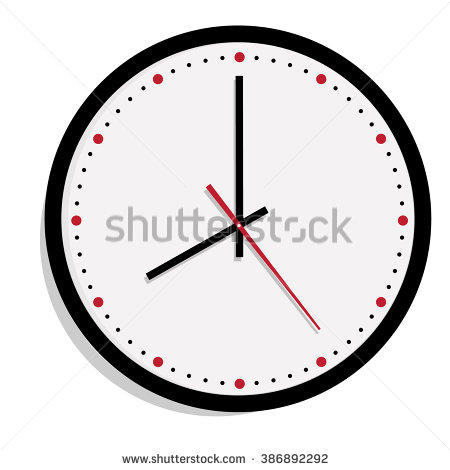 Wall Clock Stock Images, Royalty.