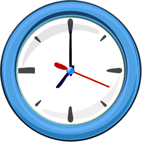 Clock PNG Transparent Images.