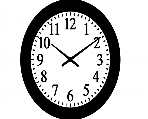 Wall clock clipart » Clipart Station.