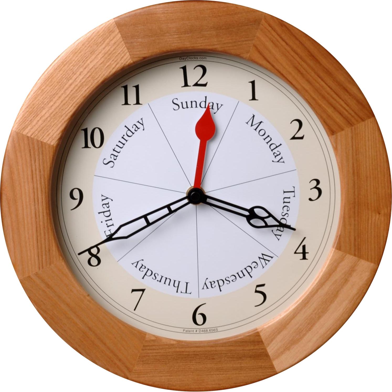 Wall Clock PNG Image.