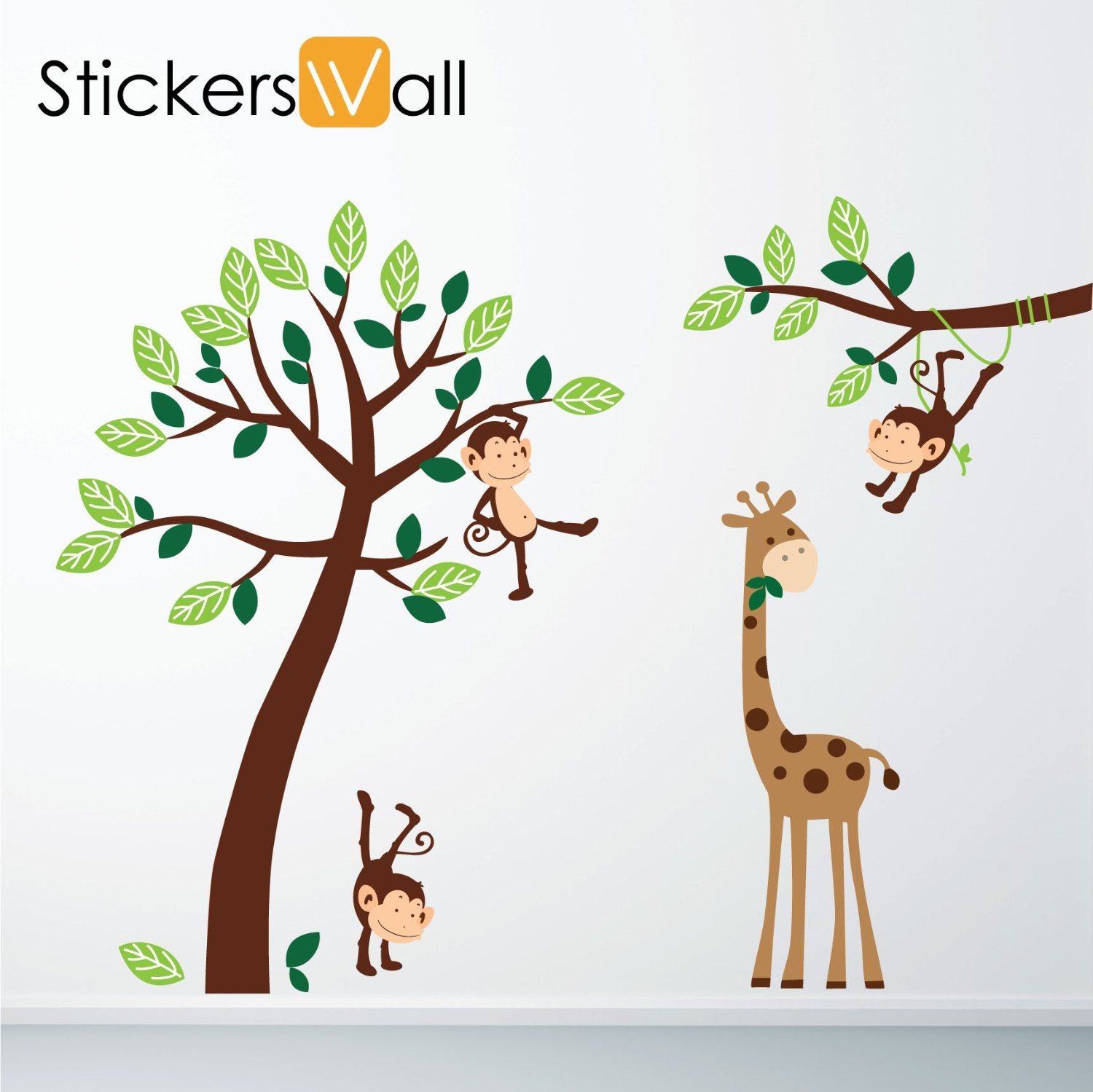 Wall Art Decor: perfect ideas nursery jungle wall art cute picure.