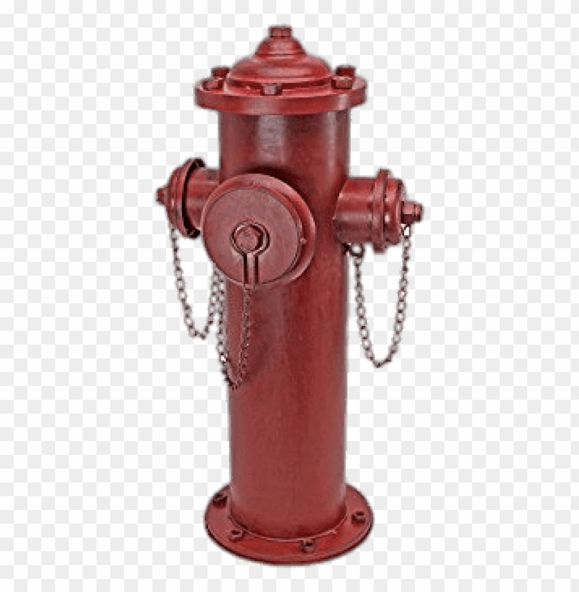fire hydrant secured with chains PNG image with transparent.