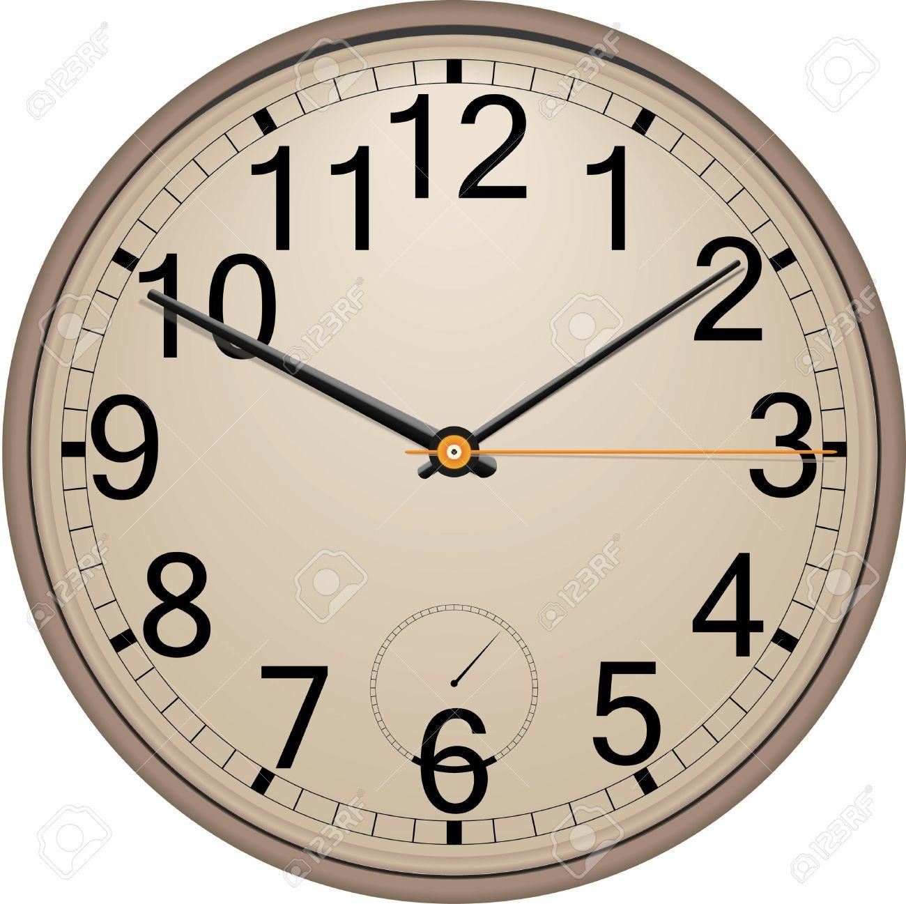 Wall Clock Royalty Free Cliparts, Vectors, And Stock Illustration.