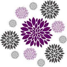 Flower Burst Clipart.