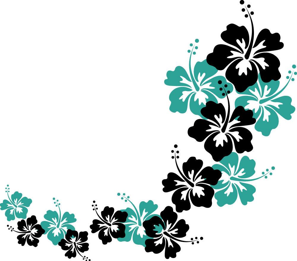 Hibiscus Flower Design.