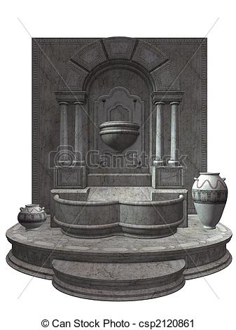 Stock Photography of Fountain.