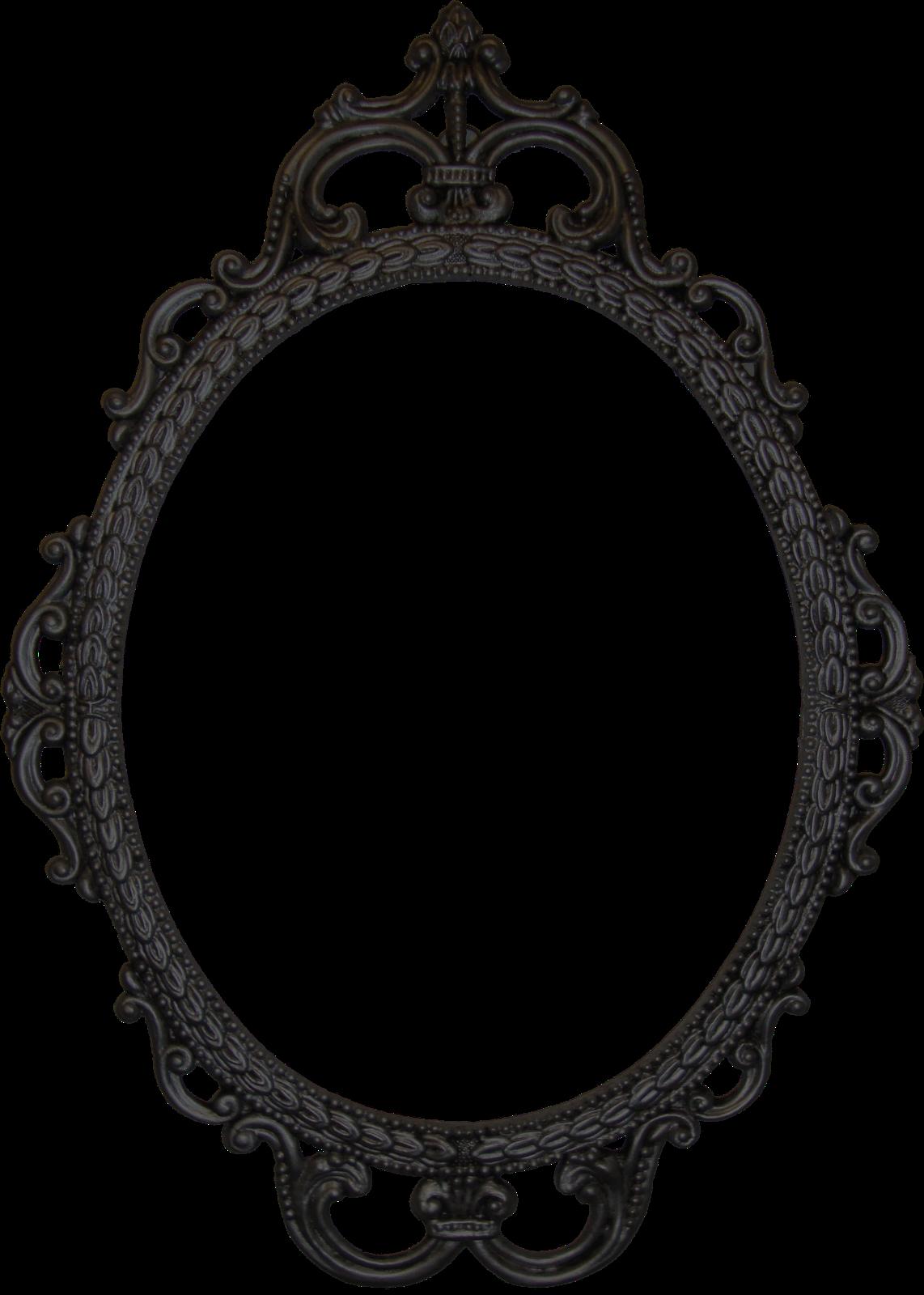 Vintage Mirror Clipart.
