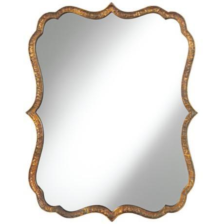 Wall mirror clipart.