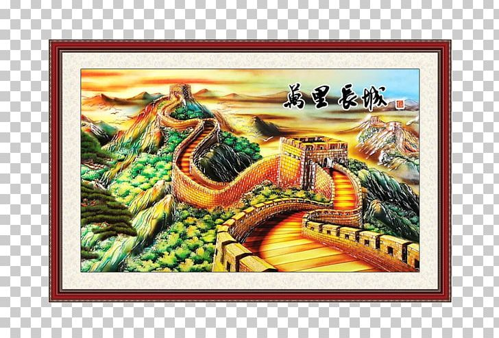 Great Wall Of China Tibetan Buddhist Wall Paintings PNG, Clipart.