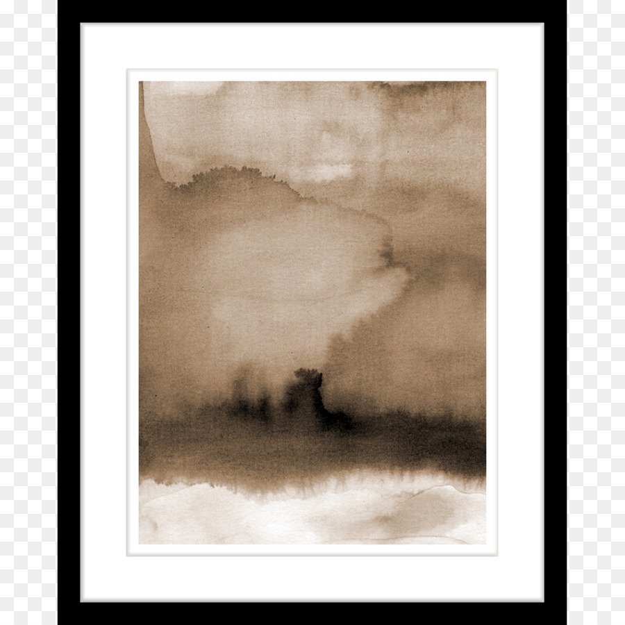 Background Watercolor Frame png download.