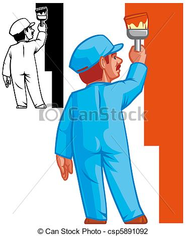 Wall paintings clipart #18