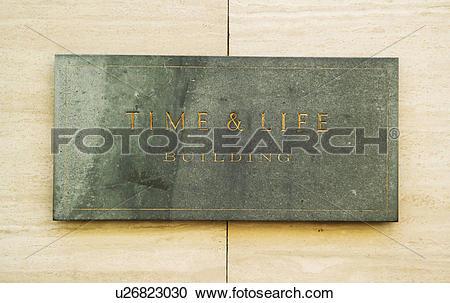 Stock Photography of England, London, New Bond Street, Time & Life.
