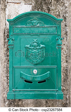 Pictures of post box.