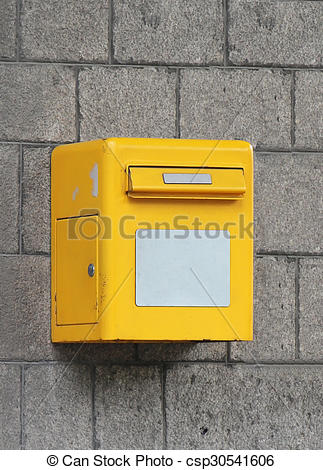 Stock Photography of Post box.
