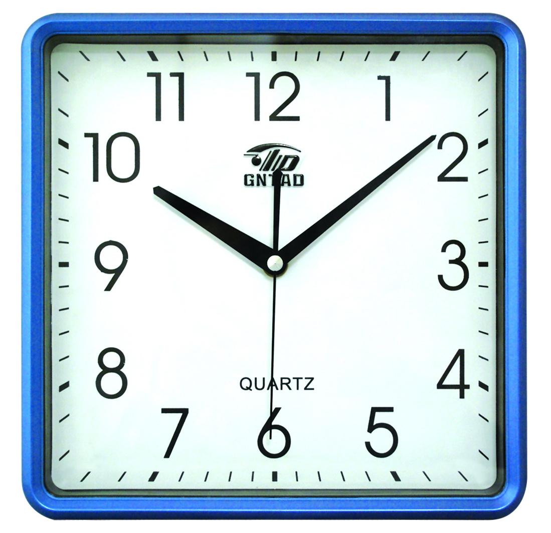 Square wall clock clipart.