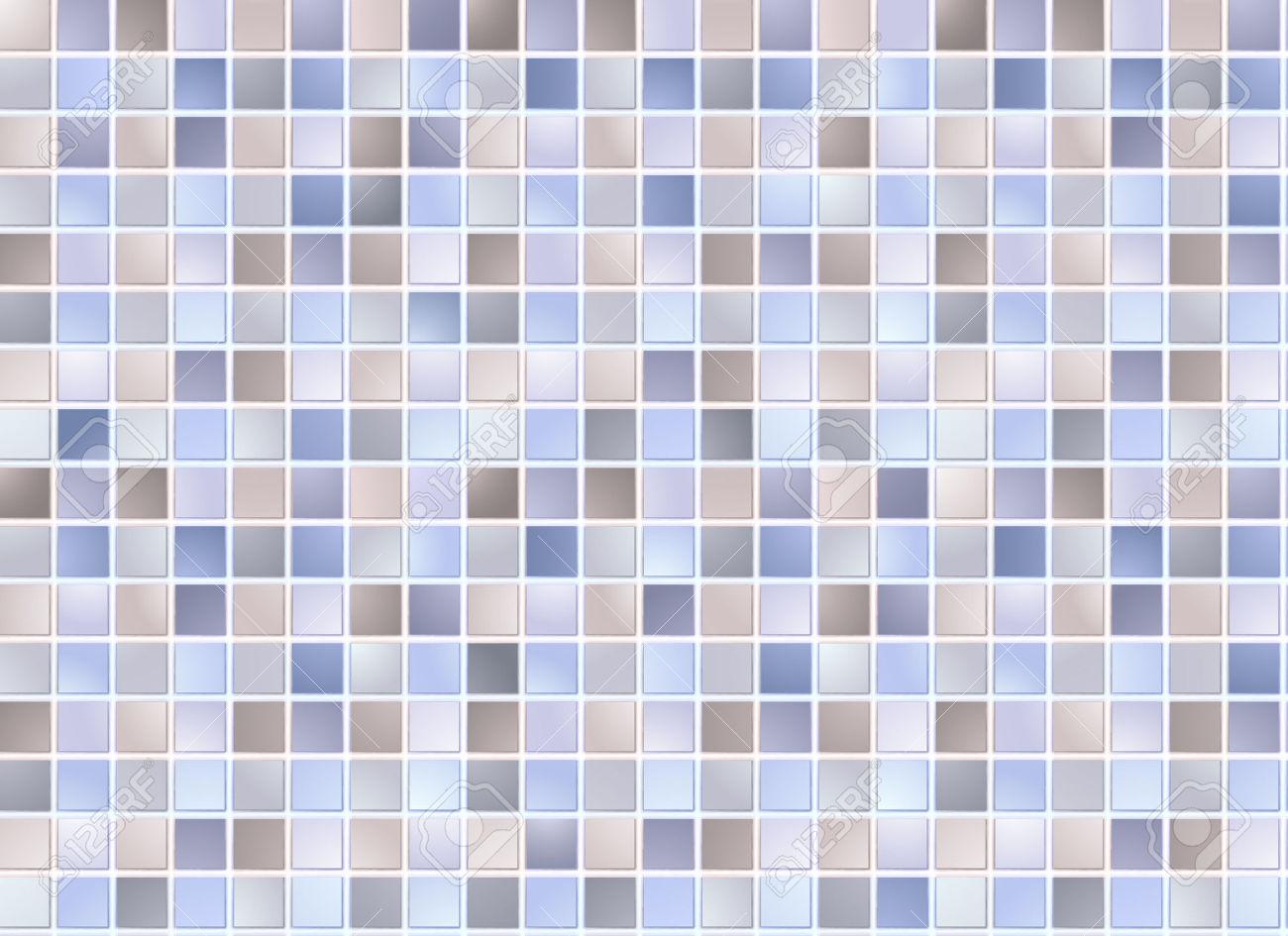 Stock Image Texture Background Bathroom Swimming Pool Tiles.