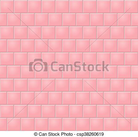 Pink Wall Tiles.