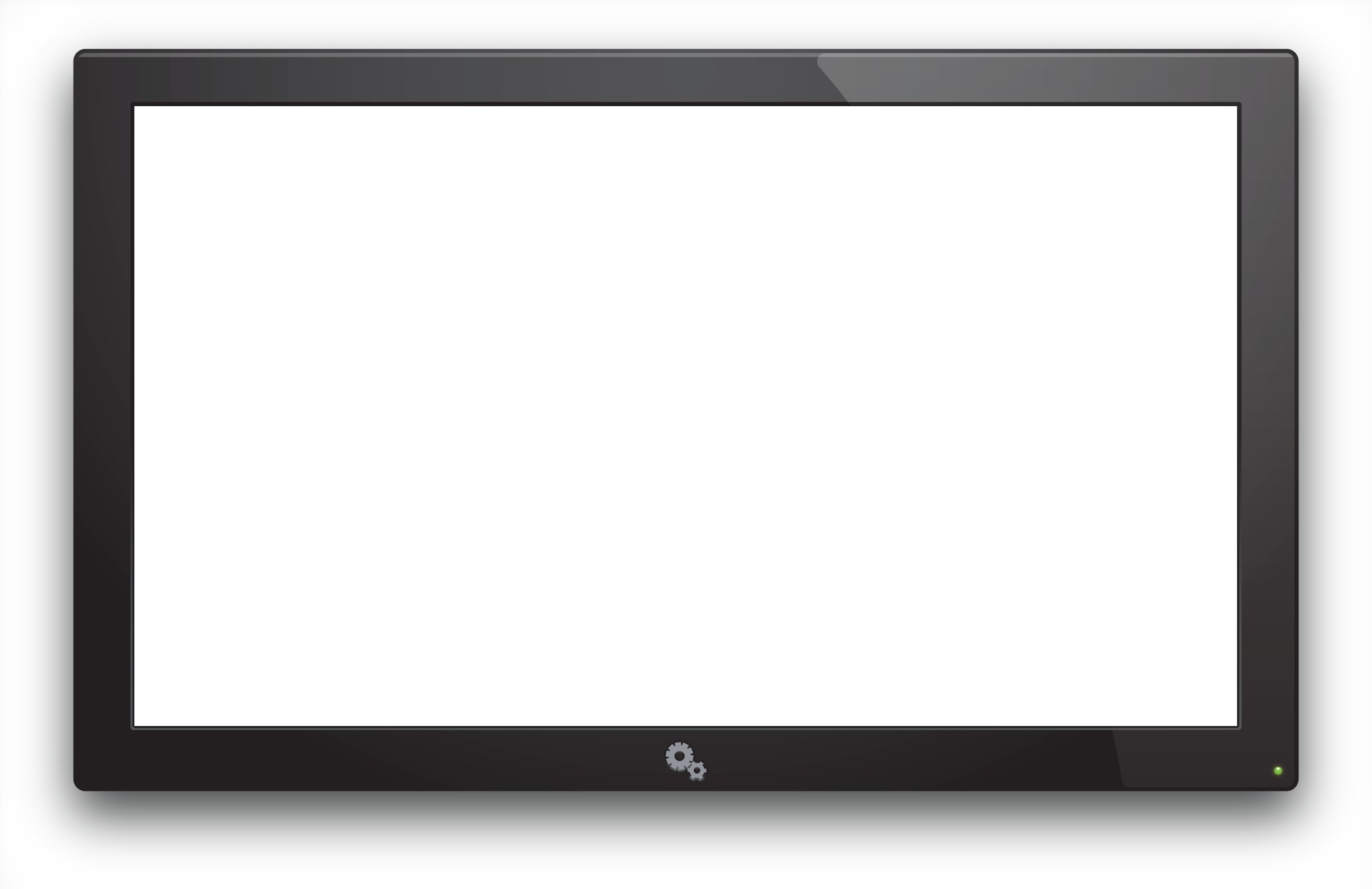 Collection of free Vector monitor wall tv. Download on.