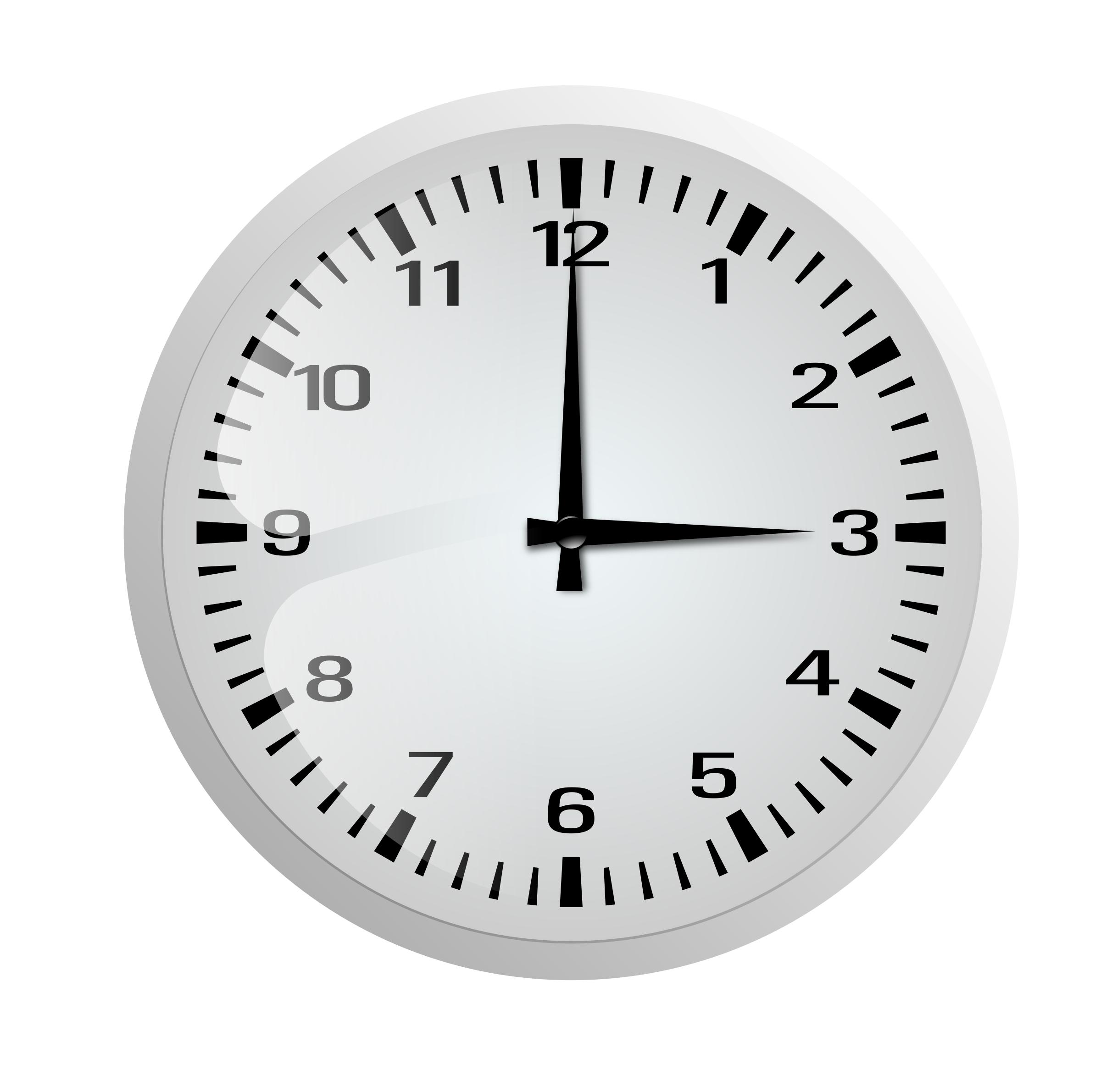 Wall Clock PNG Black And White Transparent Wall Clock Black.