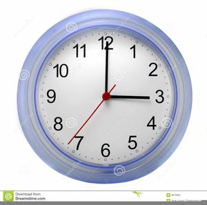 Free Wall Clock Clipart.