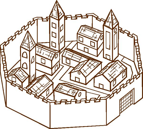 City clip art (110159) Free SVG Download / 4 Vector.