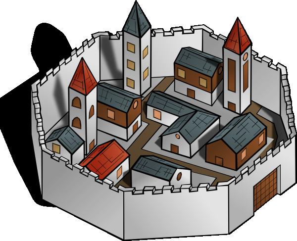 City clip art (110160) Free SVG Download / 4 Vector.