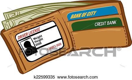 Wallet Clipart.