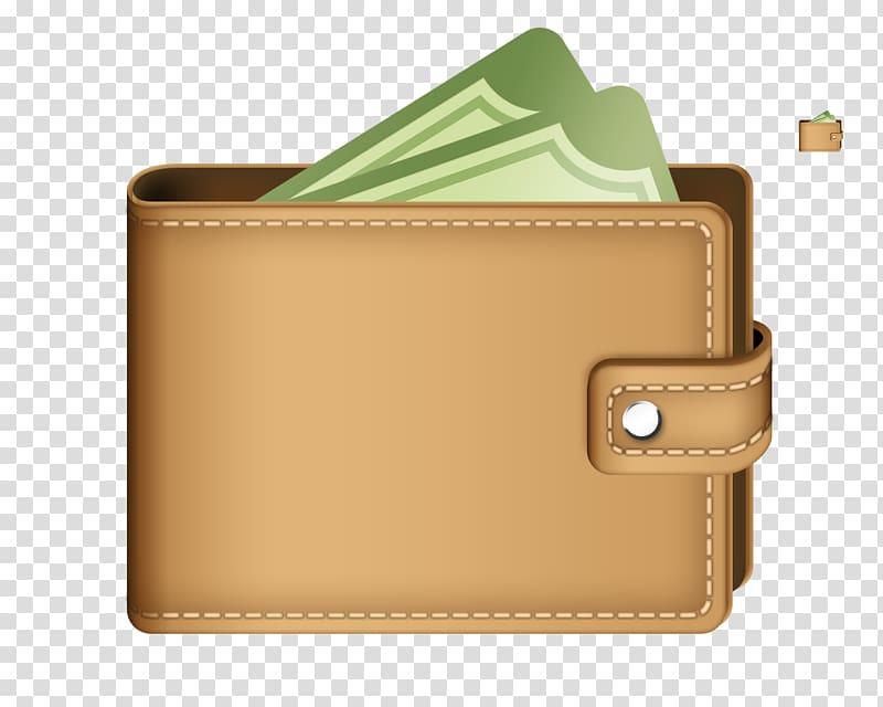 Wallet Coin purse Money , wallet transparent background PNG.