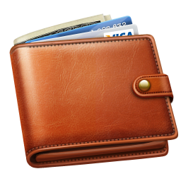 Wallets PNG images free download, leather wallet PNG.